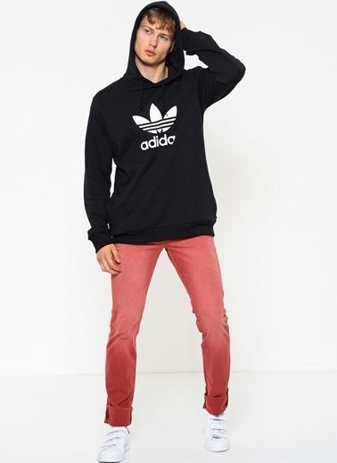 adidas Kapüşonlu Sweatshirt Siyah